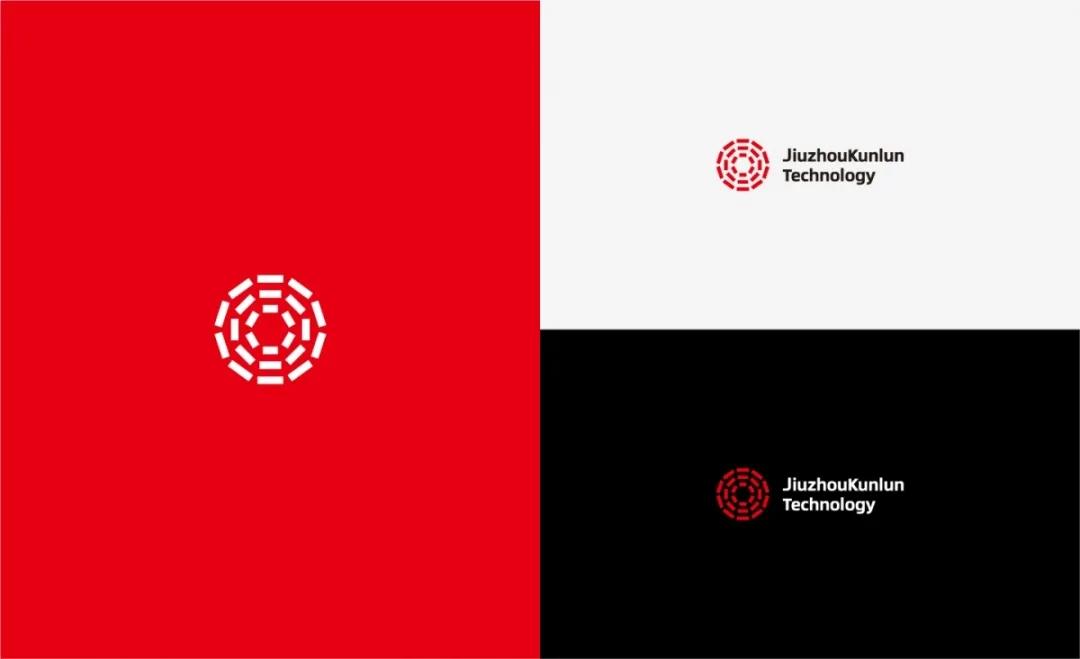 九州昆仑logo设计